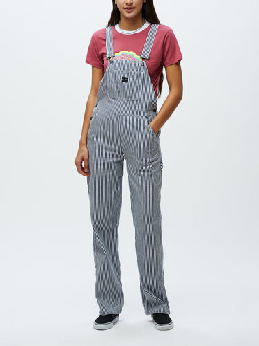 OBEY OLLIE PAINTERT OVERALL // STRIPE MULTI