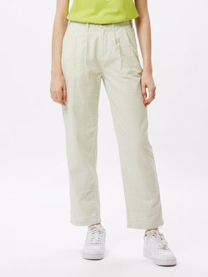 OBEY HELM PLEATED PANT // SEAFOAM