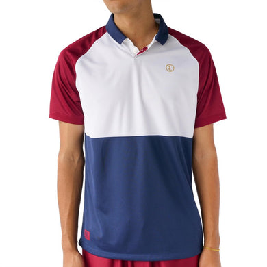 PREDUCE THAI PILLOW JERSEY // MAROON/WHITE/NAVY
