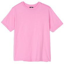 STÜSSY SMOOTH STOCK TEE // PINK