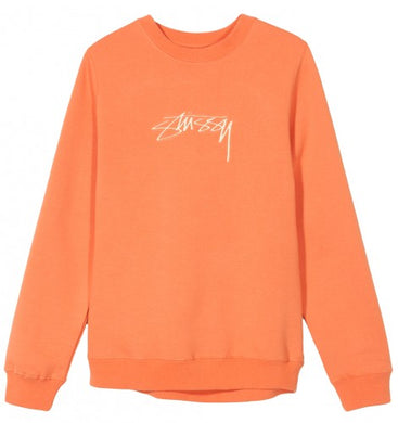 STÜSSY SMOOTH STOCK CREW // RUST (WMNS)