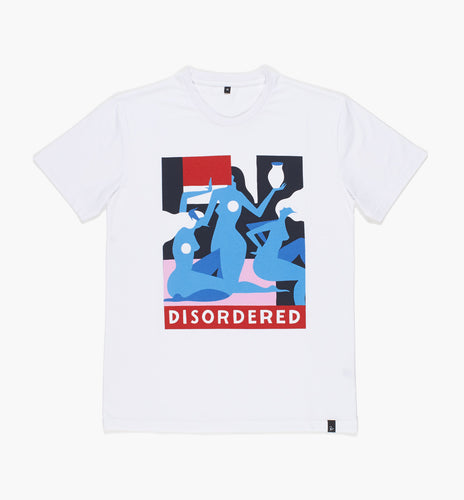 PARRA T-SHIRT DISORDERED // WHITE