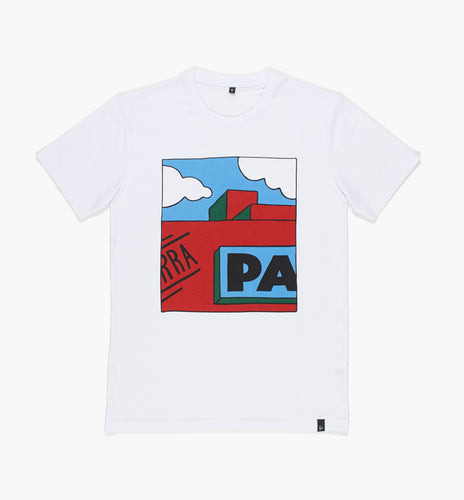 PARRA T-SHIRT GARAGE // WHITE