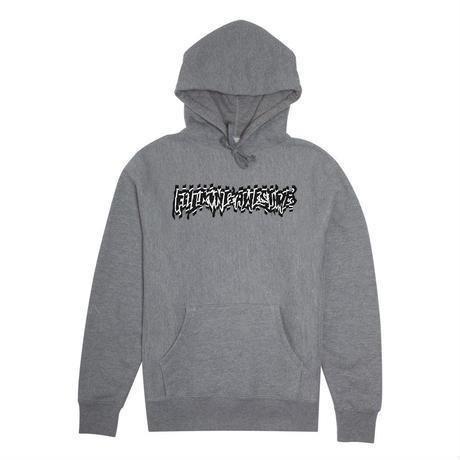 FUCKING AWESOME SHOCKWAVE HOODIE // HEATHER GREY
