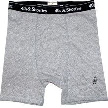 40S & SHORTIES BOXER BRIEF 3 PACK // ROYAL/HEATHER/BLACK-The Collateral