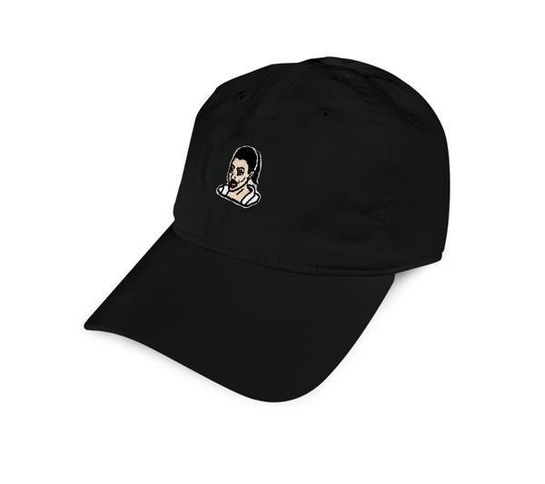 40S & SHORTIES CRYING GAME DAD HAT // BLACK-The Collateral
