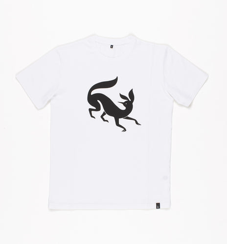 PARRA T-SHIRT CONFUSED FOX // WHITE
