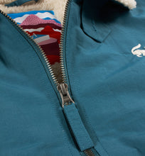 PARRA TOPPER HARLEY JACKET SCARED FOX // DEEP SEA GREEN