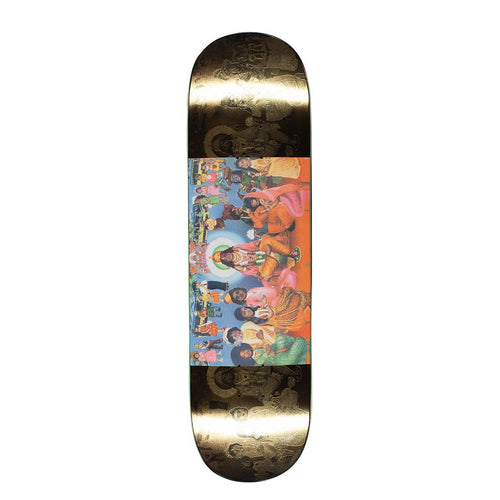 FUCKING AWESOME KEVIN BRADLEY LOVE RAISED KB  DECK // GOLD 8.5