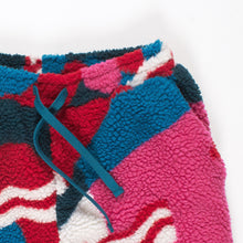 PARRA FLAG MOUNTAIN RACER SHERPA FLEECE PANTS  //  MULTICOLOR