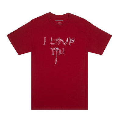 FUCKING AWESOME I LOVE YOU TEE // SCARLET RED