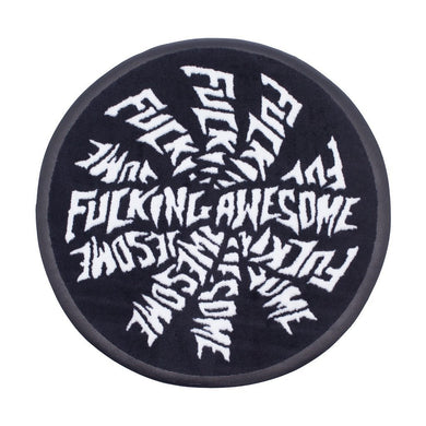 FUCKING AWESOME SPIRAL RUG KNITTED // ONE SIZE