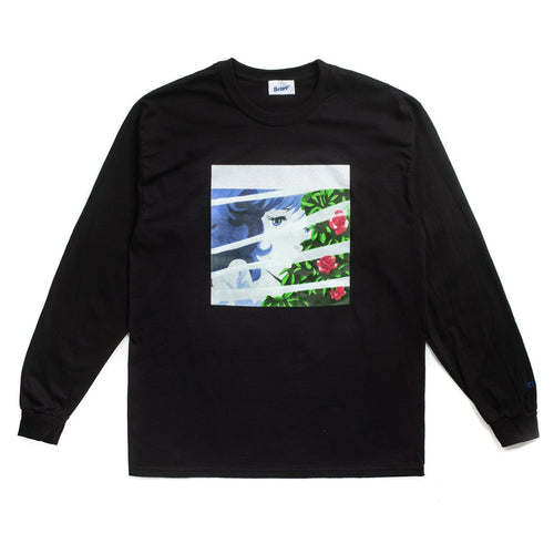 BetterTM VOYEUR 2 L/S TEE // BLACK