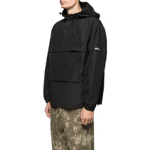 STÜSSY PACKABLE ANORAK // BLACK