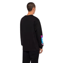 HUF ADULT ENT. LONG SLEEVE T-SHIRT // BLACK