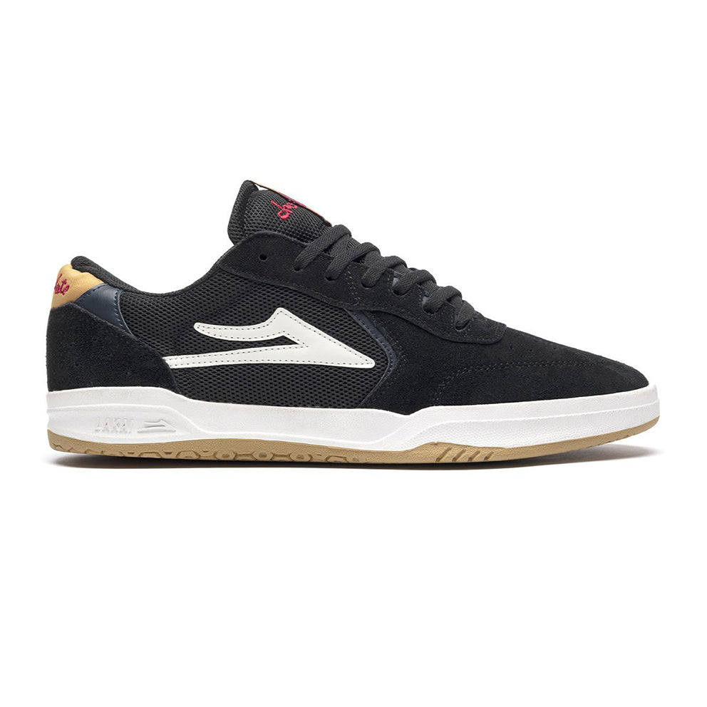 LAKAI X CHOCOLATE ATLANTIC // BLACK/YELLOW SUEDE
