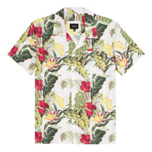 HUF PARAISO RESORT S/S WOVEN SHIRT // NATURAL