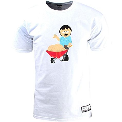 HUF X SOUTH PARK RANDY BALLS TEE // WHITE