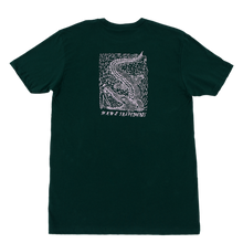WKND Alligator Girl Tee - Forest Green