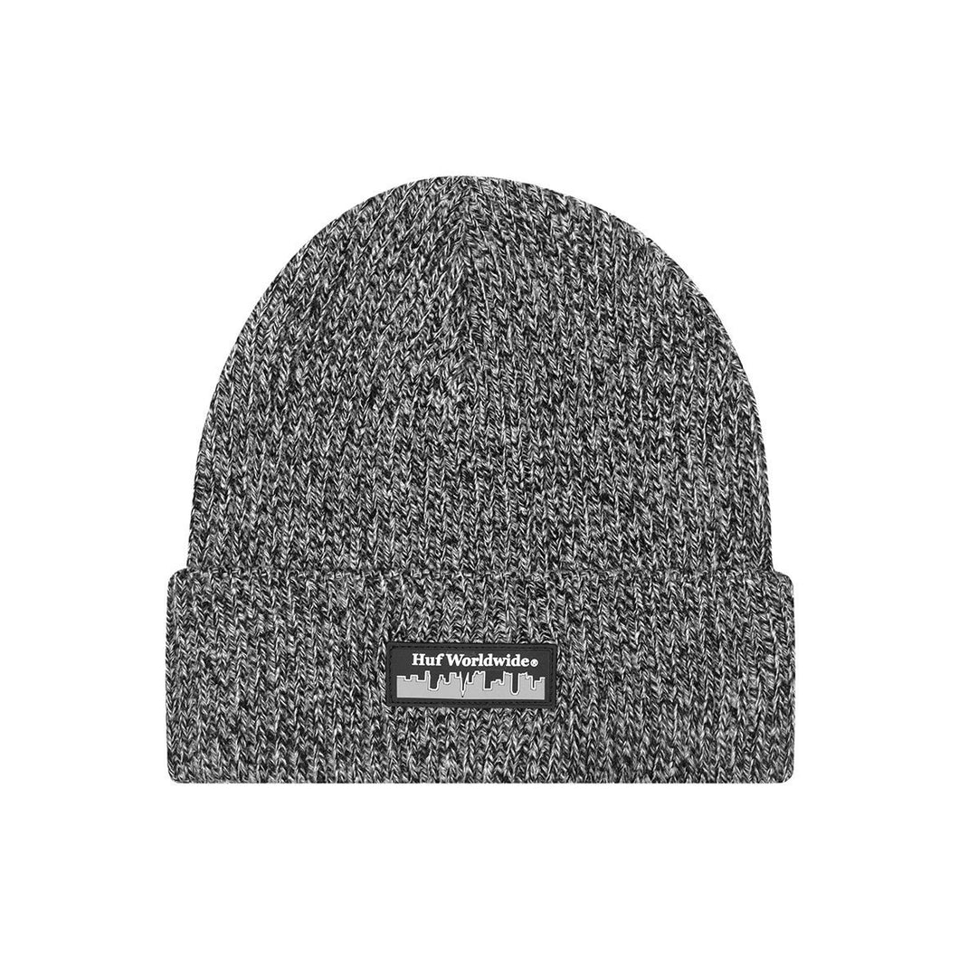 HUF BOROUGHS BEANIE // BLACK