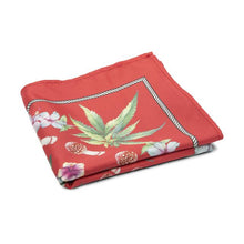 HUF BOTANICAL GARDEN BANDANA // RED