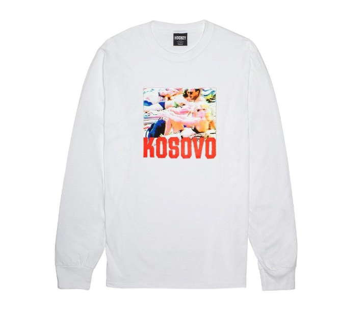 HOCKEY Kosovo Longsleeve White