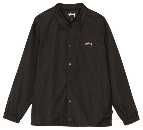 STÜSSY CRUIZE COACH JACKET // BLACK