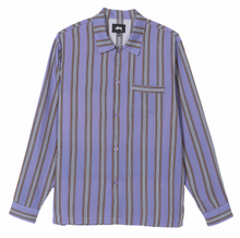 STÜSSY COVE STRIPED L/S SHIRT // LAVENDER