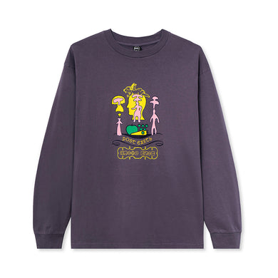 BRAIN DEAD ANTS L/S T-SHIRT // PURPLE