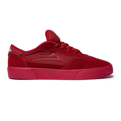 LAKAI CAMBRIDGE X CHOCOLATE // RED/REFLECTIVE SUEDE