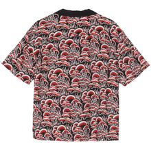 STÜSSY CORAL PATTERN SHIRT // RED