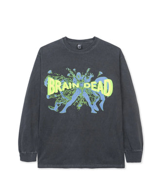 BRAIN DEAD BLAMMIN' LONG SLEEVE TEE // BLACK