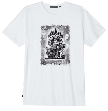 OBEY OBEY PRESS ETCHING S/S TEE // WHITE