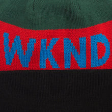 WKND COLLISION WATCHCAP BEANIE // GREEN