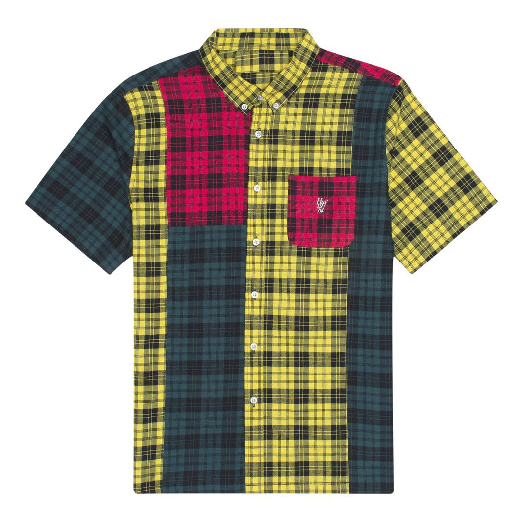 HUF DISORDER SHORT SLEEVE WOVEN SHIRT // MULTI
