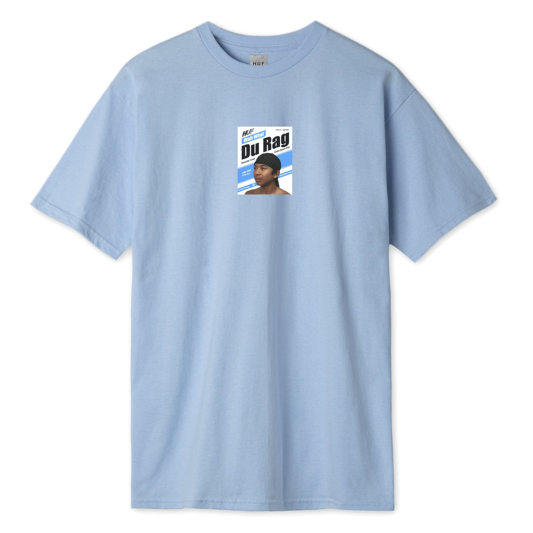 HUF DU RAG T-SHIRT // LIGHT BLUE