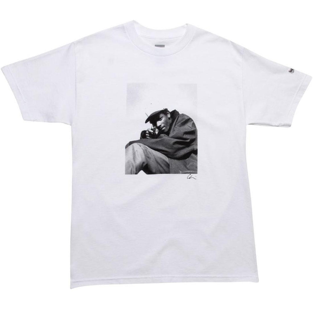 HUF X SNOOP CHI MODU TEE // WHITE