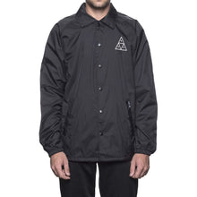 HUF TRIPLE TRIANGLE COACHES JACKET // BLACK