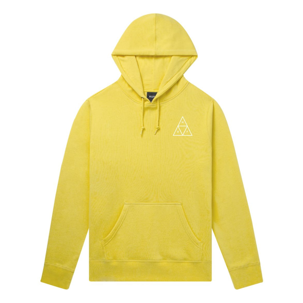 HUF ESSENTIALS TRIPLE TRIANGLE PULLOVER HOODIE // SAUTERNE