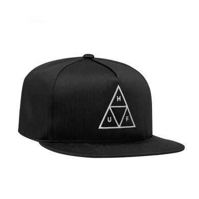 ESSENTIALS TT SNAPBACK HAT // BLACK