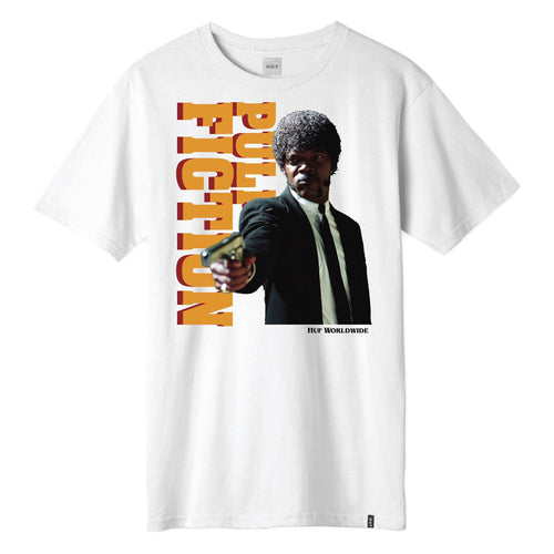 HUF X PULP FICTION EZEKIEL T-SHIRT // WHITE