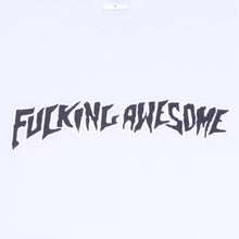 FUCKING AWESOME PUFF OUTLINE LOGO TEE // WHITE