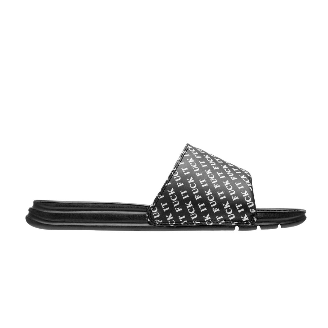 HUF FUCK IT SLIDE // BLACK