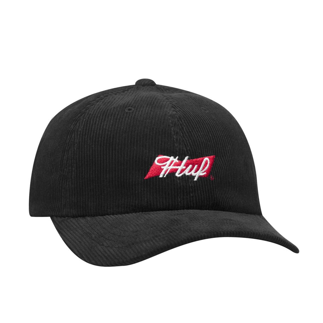 HUF X BUDWEISER BOW 6-PANEL HAT // BLACK
