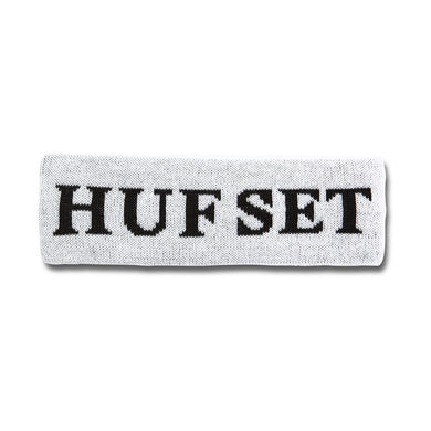HUF HUFSET HEADBAND // WHITE
