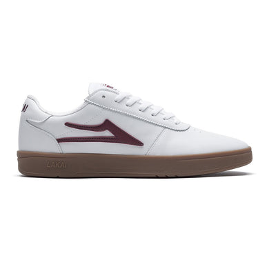 LAKAI MANCHESTER XLK // WHITE/GUM LEATHER