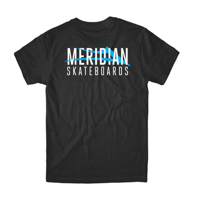 LAKAI X MERIDIAN CITY T-SHIRT // BLACK