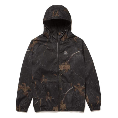 HUF NETWORK JACKET // REALTREE BLACK