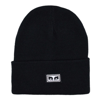 ICON EYES BEANIE // BLACK