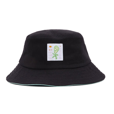 OBEY RHYTHM BUCKET HAT // BLACK/ MINT